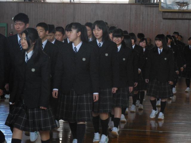 札幌厚別高等学校制服画像